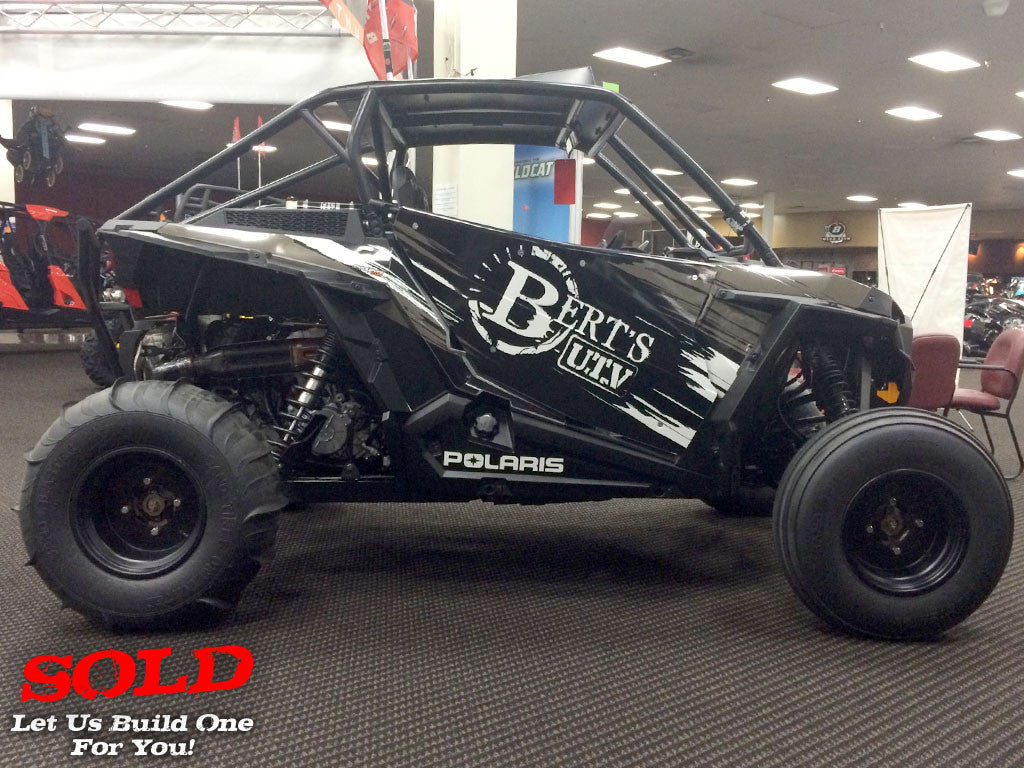 "2014 RZR XP 1000 ""Bert's UTV 14 Team - Black/White"""
