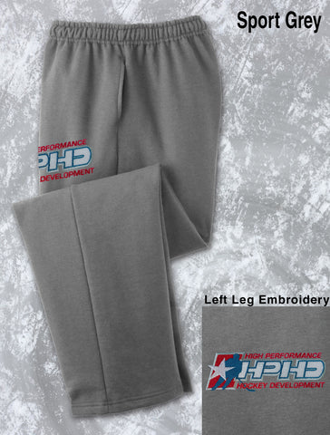 HPHD - Embroidered Open Hem Sweatpants (12300)