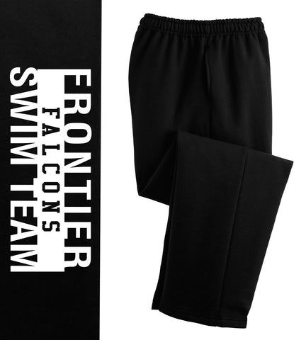 FFST - Open Hem Print Sweatpants (12300)