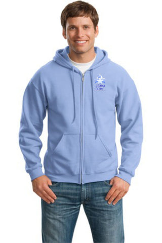 GS-Gildan® - Heavy Blend™ Full-Zip Hooded Sweatshirt- 18600(b)