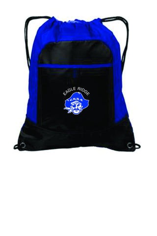 EagleRidge- Pirate Logo Cinch Bag (BG611)