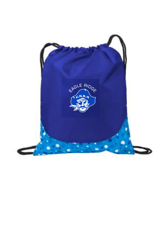 EagleRidge- Pirate Logo Patterned Cinch Bag (BG612)