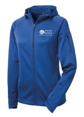 EagleRidge- Womens Royal Tech Fleece (L248)
