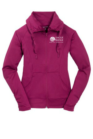 EagleRidge- Ladies Sport-Wick® Stretch Full-Zip Jacket (LST852)