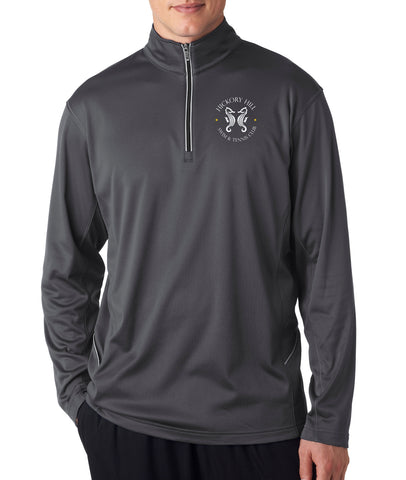 HHSWIM - UltraClub® Adult Cool & Dry Sport 1/4-Zip Pullover -8230