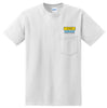 JBH - Ultra Cotton 100% Cotton T-Shirt with Pocket (2300)
