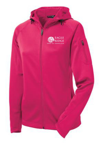 EagleRidge- Womens Pink Tech Fleece (L248)