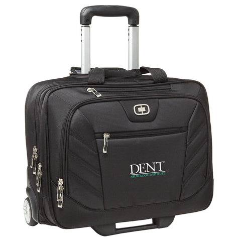 DENT - Embroidered Lucin Wheeled Briefcase (417018)