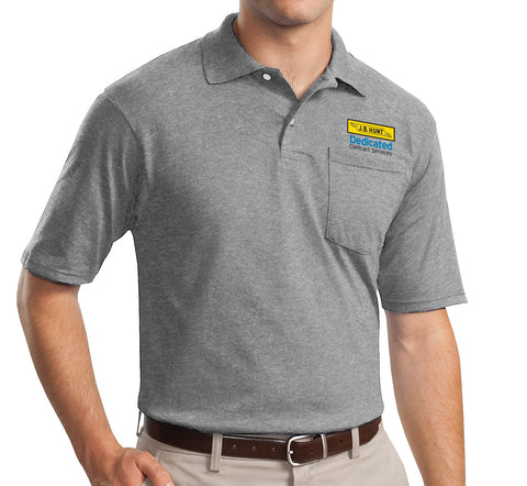 JBH - SpotShield 5.6-Ounce Jersey Knit Pocketed Polo (436MP)