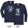 CSRA - Youth Long-Sleeve 100% Cotton T-Shirt (5400B)