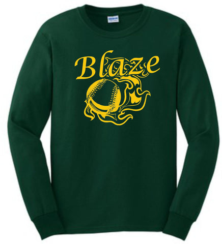 Blaze-Gildan® - Ultra Cotton® 100% Cotton Long Sleeve T-Shirt- G2400