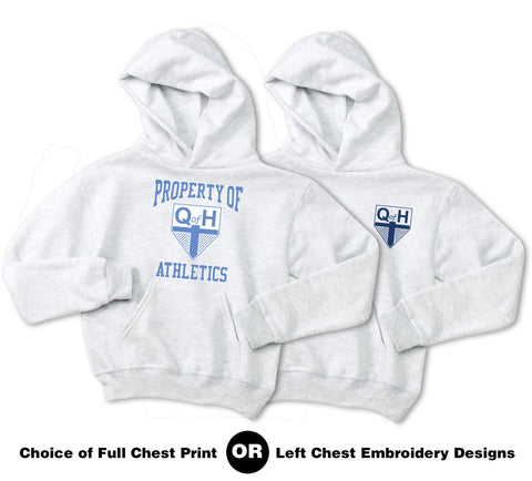 QOH - Youth NuBlend Pullover Hooded Sweatshirt (996Y)