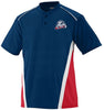 USSSA - Two-Button Colorblock Jersey (Augusta 1525)