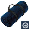 SCS - Fleece Blanket w/ Travel Strap (Navy BP10)