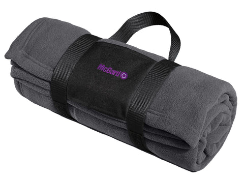 McGard Port Authority® Fleece Blanket with Carrying Strap (BP20)