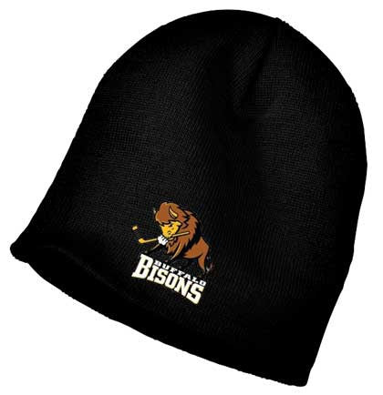 Bisons - Embroidered Winter Beanie (CP94)
