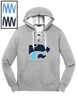 DPWH -  Lace Up Pullover Hooded Sweatshirt (ST271)