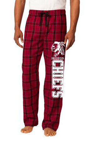 Iroquois-District® - Young Mens Flannel Plaid Pant.- DT1800