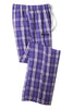 McGard District® - Young Mens Flannel Plaid Pant (DT1800)