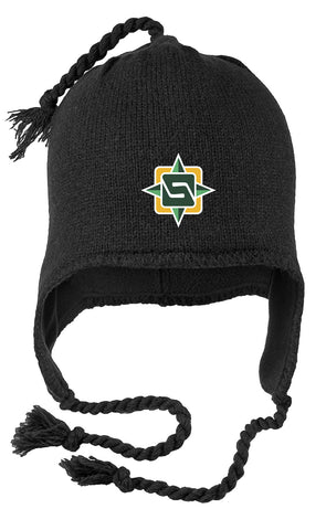 STS - Tasseled Knit Hat (DT604)
