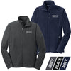 DENT -  Full-Zip Embroidered Microfleece Jacket (EB224/225)