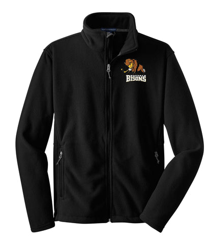 Bisons - Embroidered Full Zip Fleece (F217)