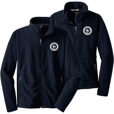 SCS - Ladies/Youth/Mens Value Fleece Jacket (Navy L/Y/F217)