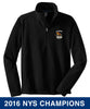 "Bisons - ""2016 Champs"" 1/4 Zip Fleece (Black F218)"