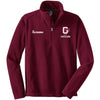 OP - Personalized CHEER 1/4-Zip Pullover Fleece (Maroon F218)