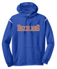 DSB - Royal/White Colorblock Logo Hoodie (F246)