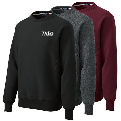 TREO - Embroidered Super Heavyweight Crewneck Sweatshirt (F280)