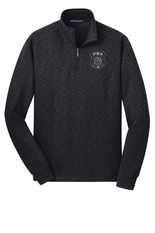 WSPBA- Port Authority® Slub Fleece 1/4-Zip Pullover- F295