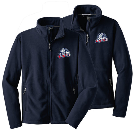 USSSA - Mens/Womens/Youth Full-Zip Fleece Jacket (Y|L|F217)