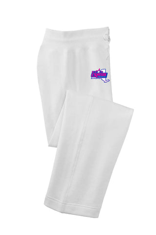 Crush - White sweat pant- PC78P