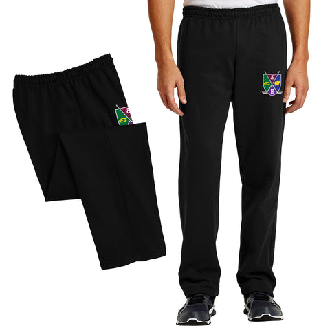 HEWS - Heavy Blend™ Open Bottom Embroidered Sweatpant (18400)