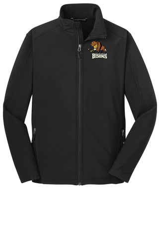 Bisons - Embroidered Soft Shell Jacket (J317)