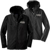 EONE - Textured Hooded Soft Shell Jacket (L/J706)
