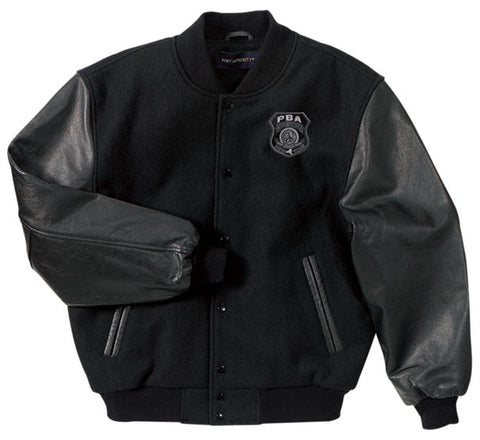 WSPBA- Port Authority® Leather Bomber Jacket- J763