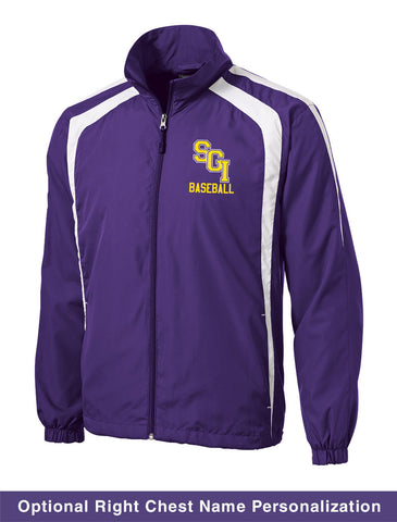 SBB - Full-Zip Raglan Wind Jacket (Purple JST60)