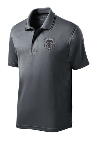 WSPBA- Sport-Tek® Dri-Mesh® Polo with Tipped Collar and Piping- K467