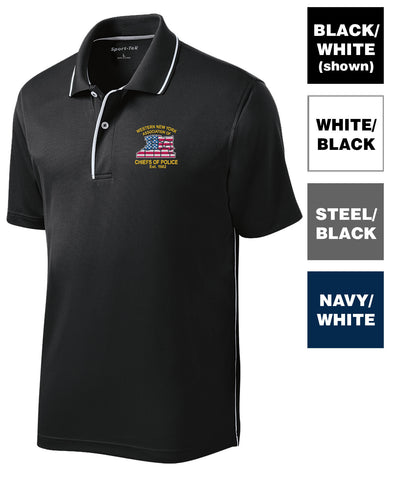 WNYACP - Dri-Mesh Polo with Tipped Collar and Piping (K467)
