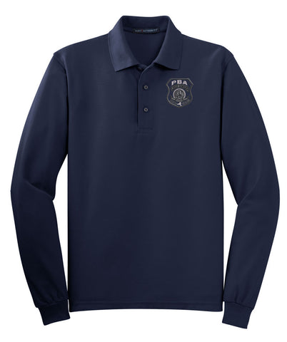 WSPBA- Port Authority® Long Sleeve Silk Touch™ Polo- K500LS