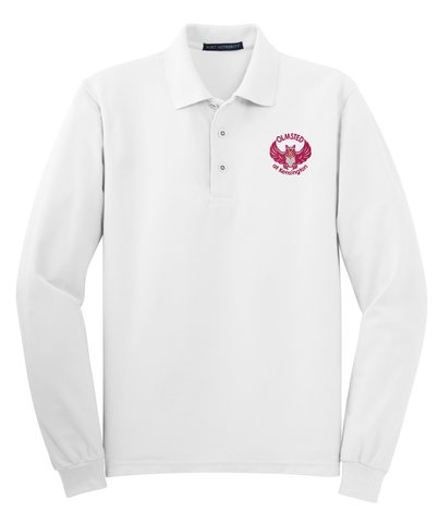 Olmsted/K - Port Authority® Long Sleeve Silk Touch™ Polo (K500LS)