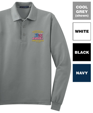 WNYACP - Long Sleeve Silk Touch Polo (K500LS)