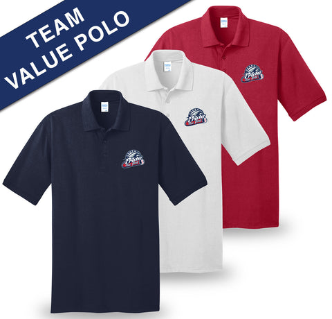 USSSA - Printed Port & Company® Core Blend Jersey Knit Polo (KP55|T)