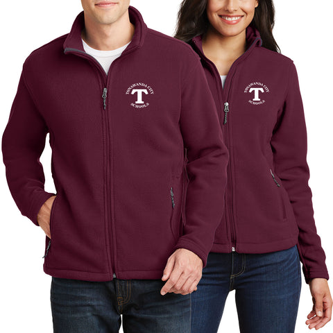 MULELEM - Full-Zip Fleece Jacket (Maroon Y/L/F217)