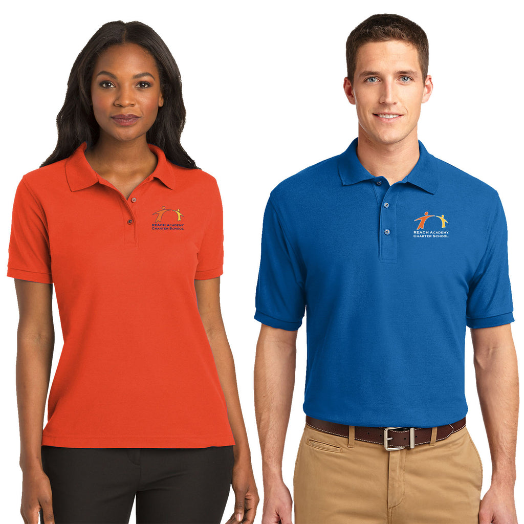 c4d7c319a REACH - Mens/ Womens Silk Touch™ Polo (L/K500) by Port Authority ...