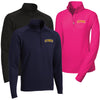 EXPR - Womens/Mens Sport-Wick Stretch 1/2-Zip Pullover (L/ST850)