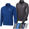 NORAN - Mens/Ladies Sport-Wick® Stretch 1/2-Zip Pullover (L/ST850)