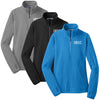 DENT - Ladies Microfleece 1/2-Zip Pullover (L224)